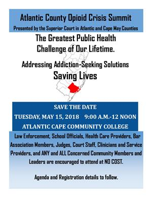 Atlantic County Opioid Crisis Summit